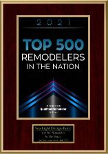 Sea Light Design-Build Top 500 Remodelers Qualified Remodeler 2021 Award